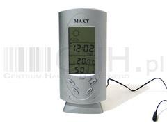 Stacja pogody Maxy z czujnikiem zewnętrznym