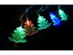 Choineczki RGB - Lampki na Baterie - Kolorowe