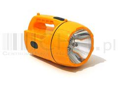 Szperacz latarka akum + 6 led śr. jd-xl-950