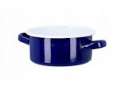 Rondel emaliowany 20 cm niebieski 3 L EMALIA FORTE