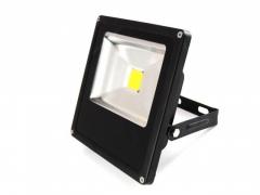 CIEPŁY HALOGEN LED 50W NAŚWIETLACZ LAMPA REFLEKTOR