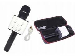 Bezprzewodowy mikrofon głośniki karaoke bluetooth