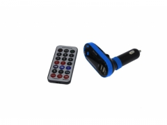 TRANSMITER FM BLUETOOTH 2 X USB MP3 SD