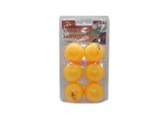 Piłeczki Pin-pong 6szt zestaw