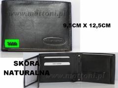 MĘSKI PORTFEL SKÓRZANY / 5600 / KEPPER