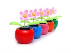 Kwiatek solarny dekoracyjny - duży różne kolory