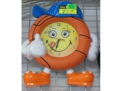 Zegar ścienny piłka koszykowa dziecięcy