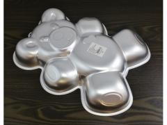 Forma aluminiowa miś 33x26x4,5  do ciast tort