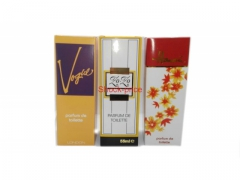 Perfumy 50-55 ml 3 wzory