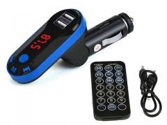 T1 TRANSMITER SAMOCHODOWY FM BLUETOOTH USB SD MP3