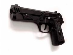 Zabawka Pistolet 20cm dźwięk terkocze iskra