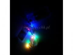 Lampki LED drucik multi 001m/200