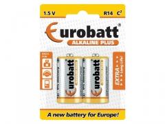 Baterie Alkaline Plus LR14 EUROBATT 2szt