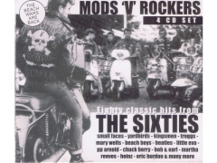 Mods 'V' Rockers - The Sixties 4cd Lata 60 -te