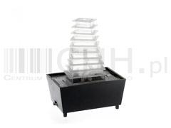 Lampka wodna led piramidka 907d
