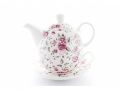 LIVELLO ZESTAW TEA FOR ONE KWIATY CR5-13