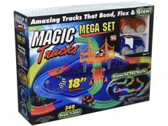 Magiczny tor magic tracks 360 5,5 metra 2auta most