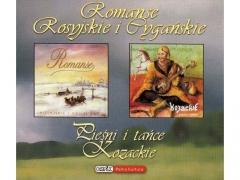 Romanse rosyjskie & Kozackie pieśni i tańce 2cd