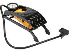 82001 Pompka nożna jednotłokowa z manometrem