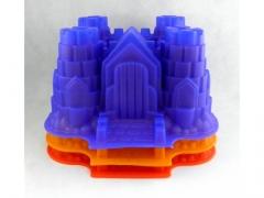 Silikonowa forma zamek 28x22cm DUZA
