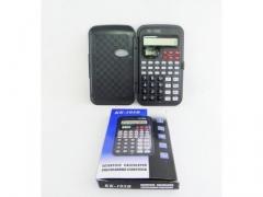Kalkulator inżynierski 10 cyfr z klapką i zegarem