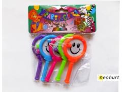 Zestaw 5x terkotka grzechotka mini zabawka Party
