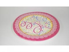 Talerz papierowy 10 szt okrągły lub kwadratowy