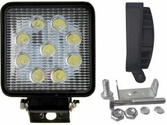 LAMPA ROBOCZA HALOGEN SZPERACZ  9 LED 27W 12V / 24
