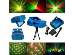 Laser disco projektor l dyskotekowy stroboskop