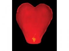 Latające lampiony wzór serce