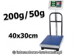 WAGA MAGAZYNOWA PLATFORMA 30x40 OPARCIE 200kg/50g