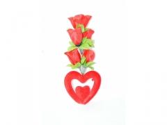 róża z sercem 027