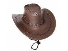 kapelusz skórzany - dziecięcy 703