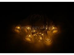 CHRISTMAS - Lampki na baterie 224/100 DZWONKI
