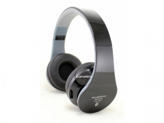SŁUCHAWKI BEZPRZEWODOWE BLUETOOTH microSD MP3