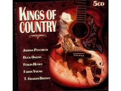 Kings Of Country 5CD PAYCHECK OWENS HUSKY YOUNG