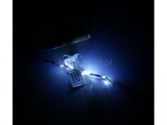 Lampki LED drucik WHITE 001w/200
