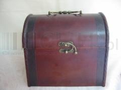 Kufer drewniany - pudełko dekoracyjne