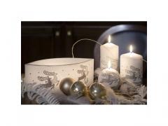CHRISTMAS - Lampion lezka mix 6