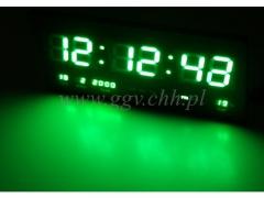 Zegar scienny LED 4622g/12