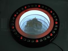 Świecące lustro duże 10