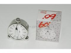 Minutnik zegar srebrny 2148/100