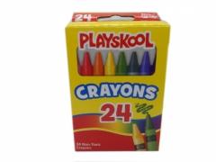 Kredki świecowe 24 szt Playskool