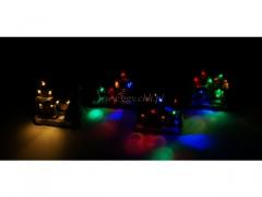 CHRISTMAS - Domek podswietlany 8312/48