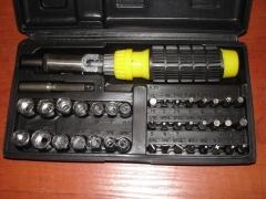 Zestaw kluczy 41 elementów Klucze