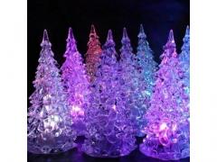 Choinka świecąca LED RGB ozdoba 12cm