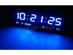 Zegar scienny LED 3755b/24