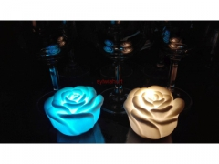 Lampka led róża - kameleon 2 sztuki Jysk