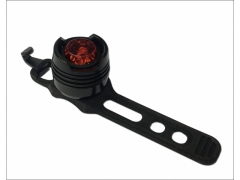 Lampka rowerowa tył czerwona silikonowa uniwersal