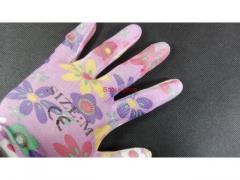 Rękawice ogrodowe kolorowe rozmiar uniwersalny